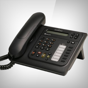 PHOTO OF THE ALCATEL 4008 IP HANDSET