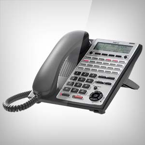 Image of the NEC SL1100 24 Button IP or Digital Handset